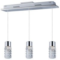 ET2 E20773-18PC Polka LED 4 inch Polished Chrome Pendant Ceiling Light