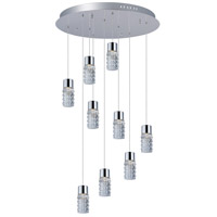 ET2 E20779-18PC Polka LED 24 inch Polished Chrome Pendant Ceiling Light