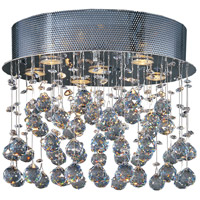 Cascada 6 Light 18 inch Polished Chrome Flush Mount Ceiling Light