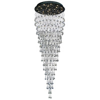 Cascada 22 Light 36 inch Polished Chrome Flush Mount Ceiling Light