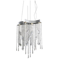 ET2 Crystal Sensation 6 Light Pendant in Polished Chrome E20802-20 photo thumbnail