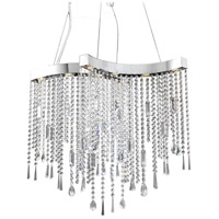ET2 Crystal Sensation 8 Light Pendant in Polished Chrome E20803-20