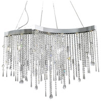 ET2 Crystal Sensation 10 Light Pendant in Polished Chrome E20804-20 photo thumbnail