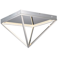 ET2 E20812-PC Pyramid LED 20 inch Polished Chrome Flush Mount Ceiling Light