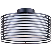ET2 Andretti 1 Light Flush Mount in Black E20820-02 photo thumbnail