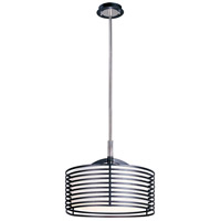 ET2 Andretti 1-Light Pendant in Polished Chrome and Black E20826-02