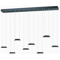 Quantum LED LED 10 inch Black Multi-Light Pendant Ceiling Light