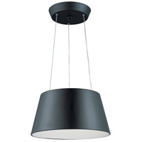 ET2 E20906-BK Quantum LED LED 18 inch Black Pendant Ceiling Light