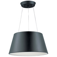 Quantum LED 24 inch Black Pendant Ceiling Light