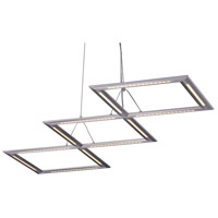 Helix LED 17 inch Satin Nickel Pendant Ceiling Light