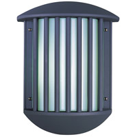 ET2 Zenith II 2 Light Outdoor Wall Mount in Dark Grey E21053-61DG