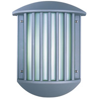 Zenith II 2 Light 14 inch Platinum Outdoor Wall Mount