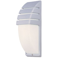 ET2 Zenith II 1 Light Outdoor Wall Mount in Platinum E21054-61PL