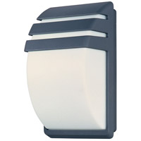 ET2 Zenith II 2-Light Outdoor Wall Mount in Dark Grey E21055-61DG photo thumbnail