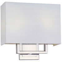 ET2 Edinburgh II 2 Light Wall Sconce in Satin Nickel E21094-01SN