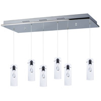 Solitaire LED 13 inch Polished Chrome Pendant Ceiling Light
