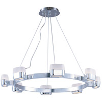 Ellipse 8 Light 28 inch Polished Chrome Pendant Ceiling Light