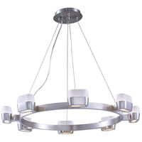 ET2 Ellipse 8 Light Pendant in Satin Nickel E21138-11SN