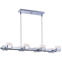 ET2 Ellipse 8 Light Linear Pendant in Polished Chrome E21139-11PC