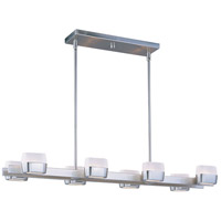 ET2 Ellipse 8 Light Linear Pendant in Satin Nickel E21139-11SN