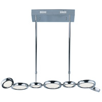 Timbale LED 16 inch Polished Chrome Pendant Ceiling Light
