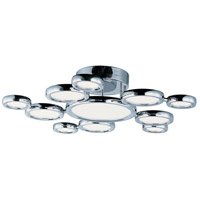 ET2 E21146-01PC Timbale LED 32 inch Polished Chrome Pendant Ceiling Light