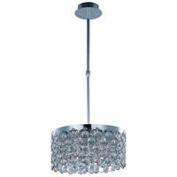 ET2 E21154-20PC Dazzle 5 Light 16 inch Polished Chrome Single Pendant Ceiling Light