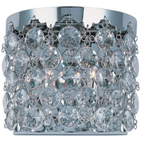 Dazzle 2 Light 10 inch Polished Chrome Wall Sconce Wall Light