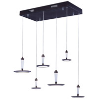 ET2 Hilite 6 Light Pendant in Bronze E21166-01BZ
