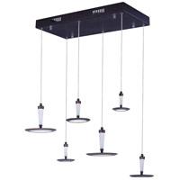 ET2 E21166-01BZ Hilite LED 13 inch Bronze Pendant Ceiling Light