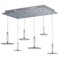 ET2 E21166-01PC Hilite LED 13 inch Polished Chrome Pendant Ceiling Light