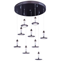 ET2 Hilite 9 Light Pendant in Bronze E21169-01BZ