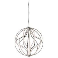 ET2 E21176-PC Aura LED 24 inch Polished Chrome Pendant Ceiling Light