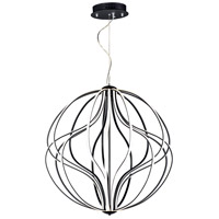 ET2 E21178-BK Aura LED 31 inch Black Single Pendant Ceiling Light