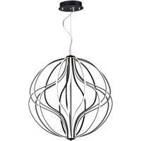 ET2 E21178-BK Aura LED 31 inch Black Single Pendant Ceiling Light