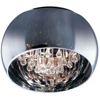 Sense 6 Light 20 inch Polished Chrome Flush Mount Ceiling Light