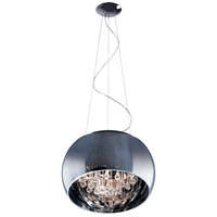 Sense 6 Light 20 inch Polished Chrome Pendant Ceiling Light