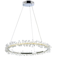 ET2 E21211-20PC Bracelet LED 27 inch Polished Chrome Single Pendant Ceiling Light