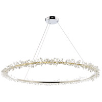 Bracelet LED 43 inch Polished Chrome Entry Foyer Pendant Ceiling Light