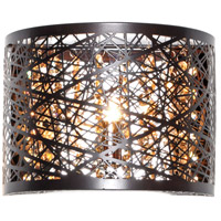 ET2 E21302-10BZ Inca 1 Light 8 inch Bronze ADA Wall Sconce Wall Light in Cognac Without Bulb