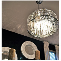 ET2 Inca 9 Light Pendant in Polished Chrome E21308-10PC alternative photo thumbnail