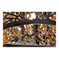 ET2 E21316-10BZ Inca 3 Light 24 inch Bronze Bath Light Wall Light in Clear/White, Without Bulb, 4.25 in. alternative photo thumbnail
