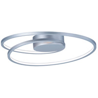 ET2 E21320-MS Cycle LED 18 inch Matte Silver Flush Mount Ceiling Light