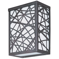 Inca LED LED 8 inch Bronze Outdoor Wall Mount