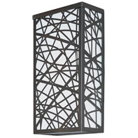 Inca LED LED 12 inch Bronze Outdoor Wall Mount
