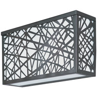 Inca LED LED 7 inch Bronze Outdoor Wall Mount