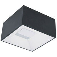ET2 E21360-61BK Collage LED 6 inch Black Flush Mount Ceiling Light