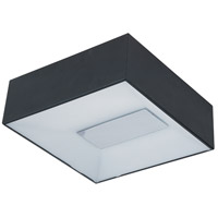 ET2 E21362-61BK Collage LED 5 inch Black Flush Mount Ceiling Light