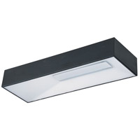 ET2 E21364-61BK Collage LED 4 inch Black Flush Mount Ceiling Light