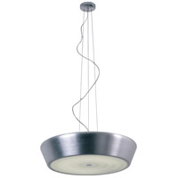 ET2 Voltaire 2 Light Pendant in Brushed Aluminum E21400-09AL